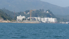 Hong Kong Mui Wo in Lantau island China Asia - stock footage