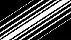 Lines Diagonal BnW Stock Footage