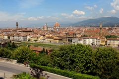Florence Skyline City, Tuscany, Italy - stock photo
