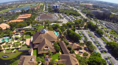 Trump National Doral Miami aerial video Stock Footage