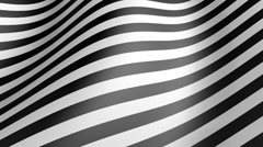 WAVY STRIPES 4 Stock Footage