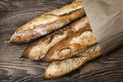Stock Photo of baguettes bread