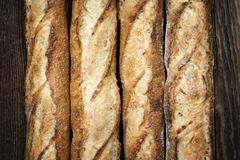 baguettes - stock photo