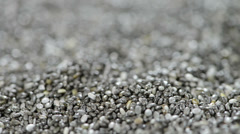 Rotating chia seeds (not loopable) Stock Footage