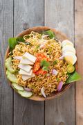 malaysian style maggi goreng mamak - stock photo
