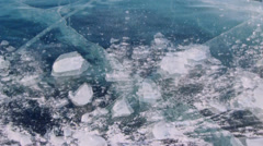 Broken ice Stock Footage