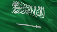 Stock Video Footage of Flag of Saudi Arabia - seamless loop