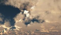 Sky sunny 3D 01 Stock Footage