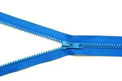 Metal zipper Stock Photos