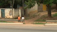 Street children Stock Footage