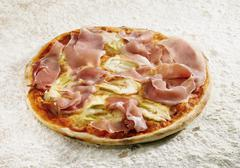 pizza fantasia - stock photo