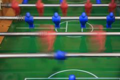 Blurred foosball Stock Photos