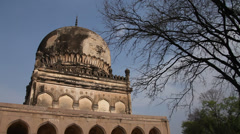 Golconda tombs Hyderabad  India Stock Footage
