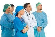 Stock Photo of Doctors team perspective
