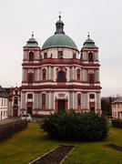basilica minor in jablonne v podjesedi - stock photo