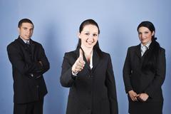 Business people team success - stock photo
