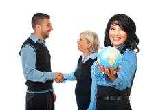 International business relationship - stock photo