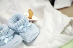 baby stuff - stock photo