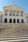 portuguese national assembly, lisbon, portugal - stock photo