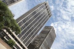 Buildings in downtown sao paulo Stock Photos
