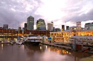 Stock Photo of puerto madero, buenos aires.