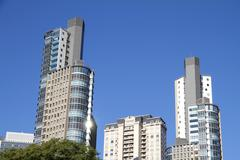 skyscrapers in buenos aires - stock photo