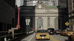 MetLife Building in New York City in 4K Stock Footage