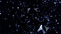 Plexus Star Constellation Stock Footage