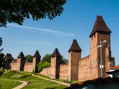 Town fortification in nymburk Stock Photos