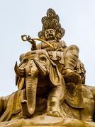 buddha's statue - stock photo