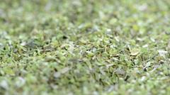 Dried oregano (loopable) Stock Footage