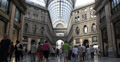 Ultra HD 4K Naples Galleria Umberto Shopping Center Busy People Buying Customers 4k or 4k+ Resolution