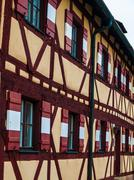 Typical timbered house in germany Stock Photos