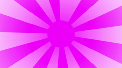 Pink purple rising sun spinning HD Stock Footage
