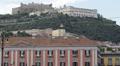 Naples Italy Prefecture Palace Palazzo Prefettura Medieval Castel Sant'Elmo Ermo HD Footage