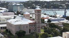 Bermuda Parliament Building Stock Footage