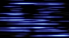 Blue Form Lines 11 Stock Footage