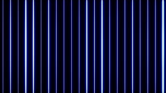 Blue Form Lines 4 Stock Footage