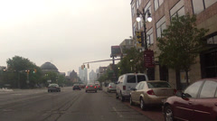 Detroit Streets Timelapse 4 - stock footage