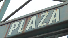 Plaza Gate 3 Tigers Stadium Stock Footage