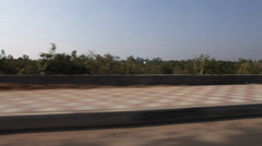 High way in India Stock Footage