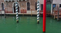 Italy, Venice, Grand canal, view from a boat. Footage