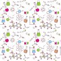 Stock Illustration of hand draw chemistry pattern
