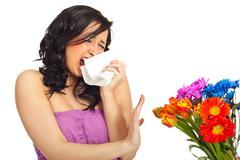 Spring allergy Stock Photos