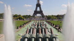 Paris - Eifel Tower Stock Footage