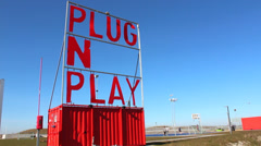 Plug and Play - stock footage