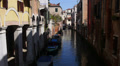 Channels of Venice. Footage