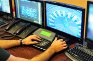 Casino surveillance Stock Photos