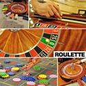 Roulette colage Stock Photos