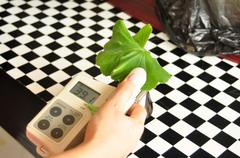 Chlorophyll meter Stock Photos